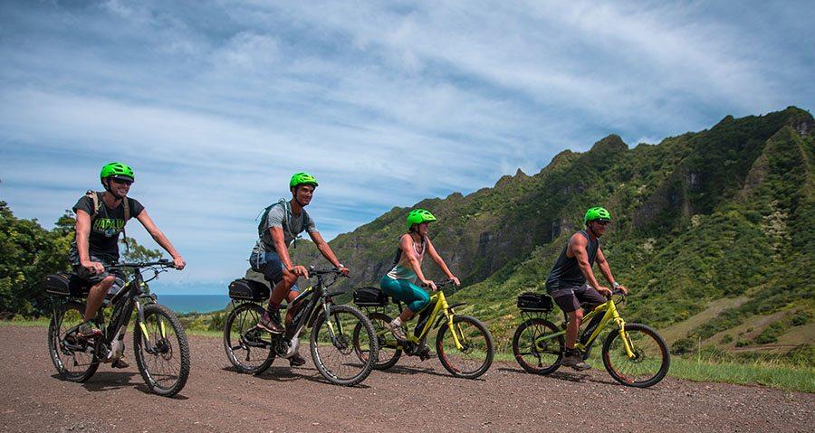 Kualoa bikers