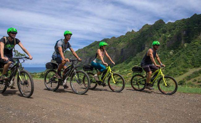 Bikes on eBike Tour