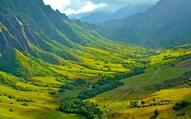 Kualoa Valley